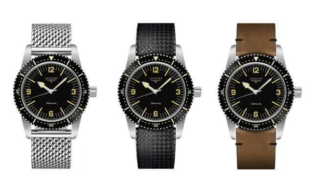 The Longines Heritage Skin Diver Watch
