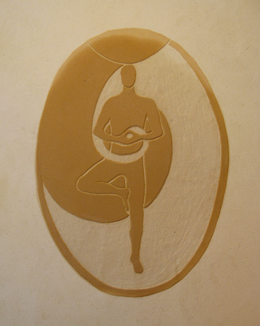 Sgrafito vjogínském pokoji, Kateřina Šmardová.